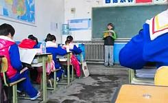 China_classroom_students_volunteer_kid_reading