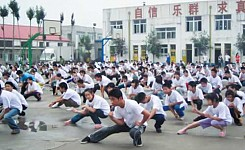 China_locals_praticing_kung_fu
