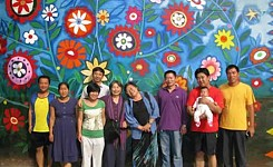 Mural_made_by_volunteers_at_school_where_globe_aware_works_in_beijing_china